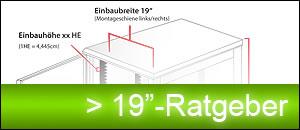 """19"""" Ratgeber für den richtigen Netzwerkschrank / Serverschrank"""