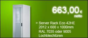 "19"" Serverschrank 42HE 600*1000 nur 663,00 netto"