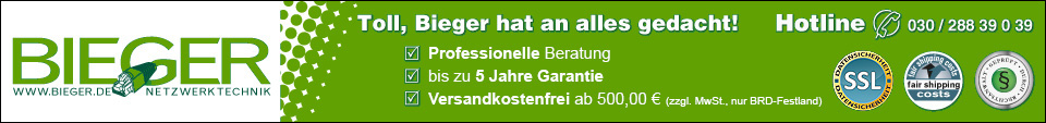 Netzwerkschrank und Serverschrank bei Bieger.de im Webshop kaufen